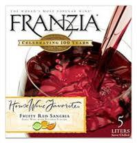 Franzia Sangria 5.00l - Case of 4